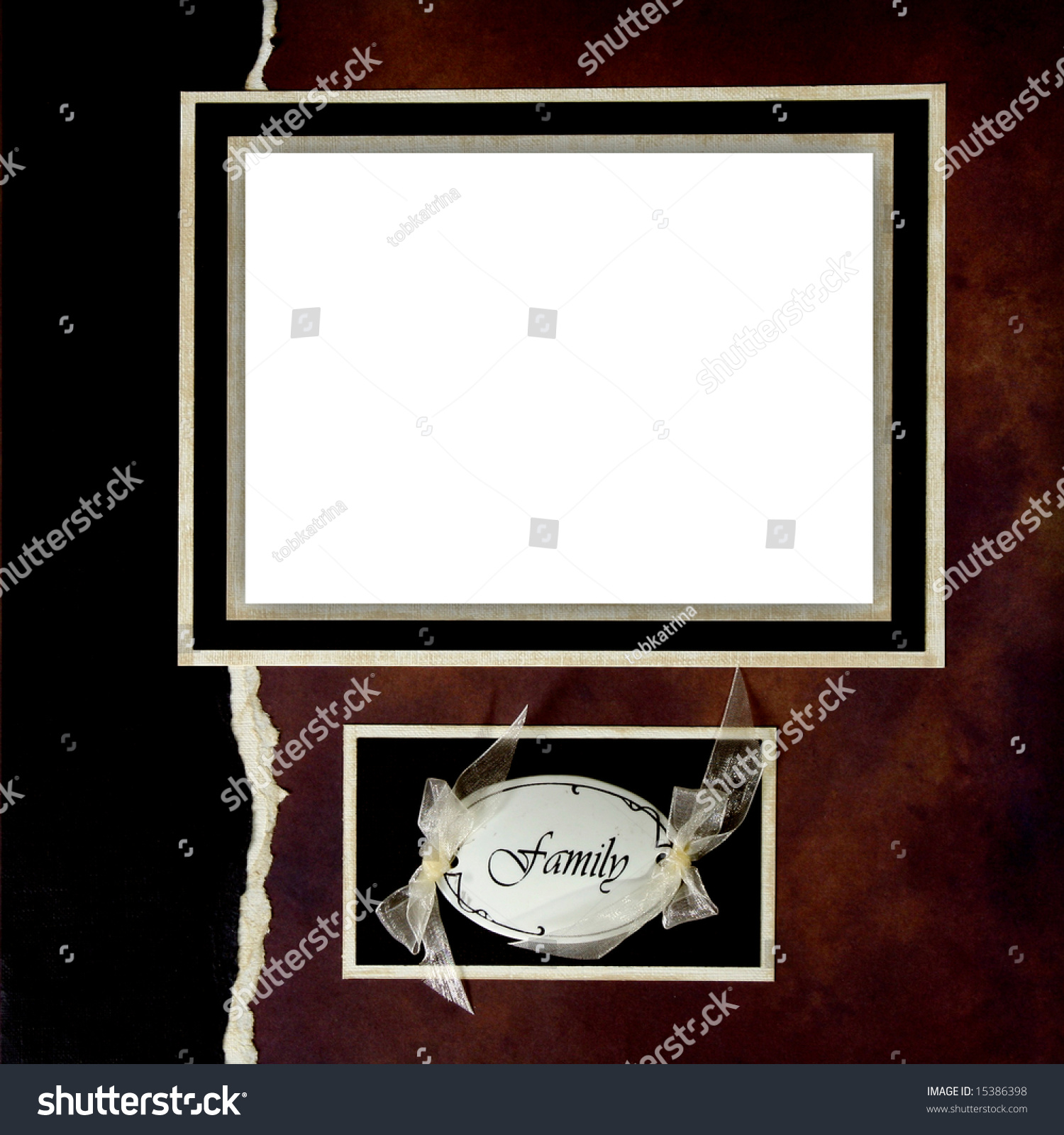 Family Scrapbook Page Perfect Online Digital Stock Photo Edit Now