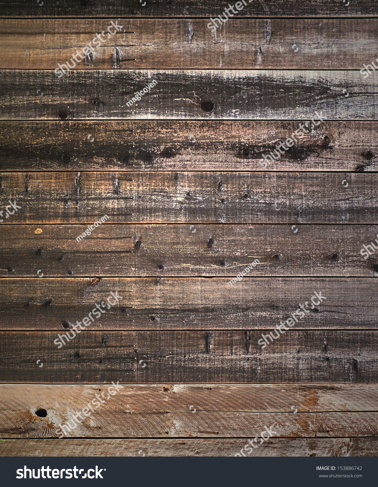 Rustic weathered barn wood background with knots and nail for Where can i buy old barn wood