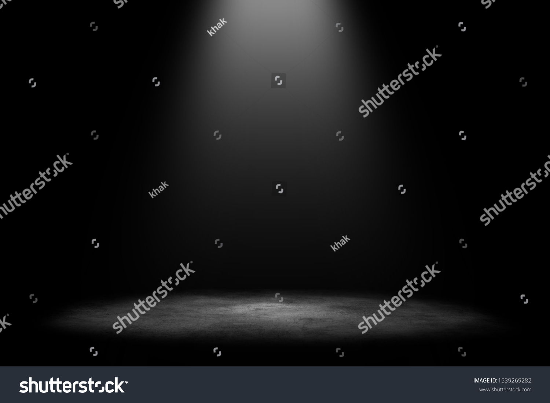 Studio room gradient background. Abstract black white gradient background. #1539269282