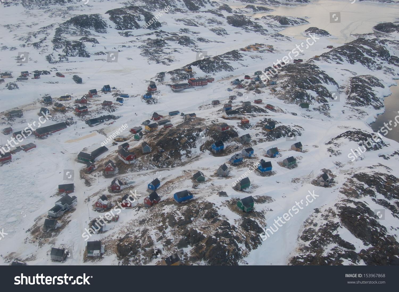 Town Kulusuk East Greenland Shot October Stock Photo (Edit Now