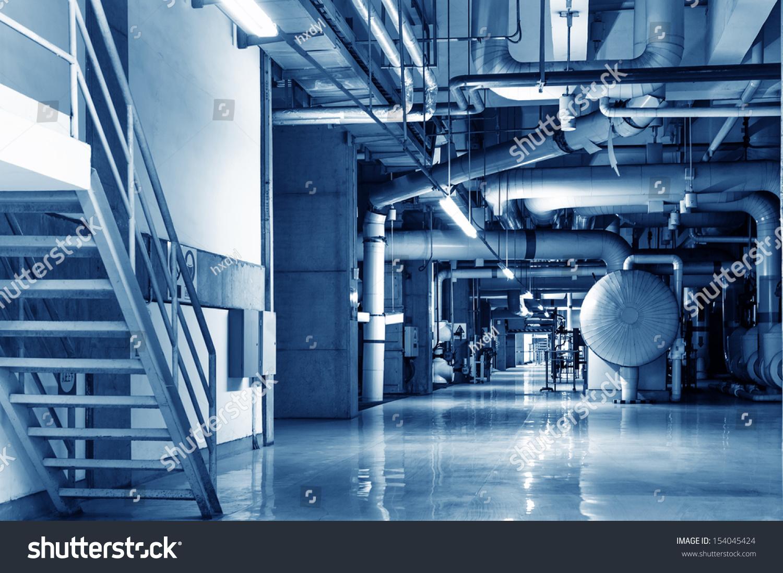 Modern Boiler Room Equipment Heating System Stock Photo (Edit Now ...
