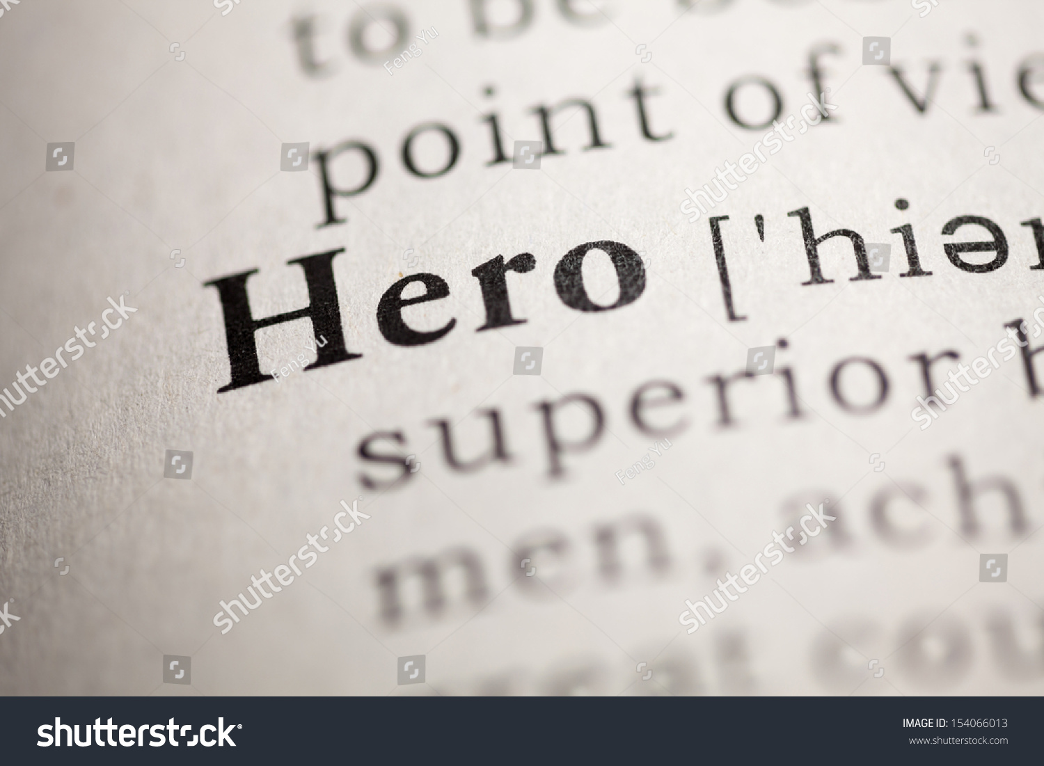 The meaning of the word hero today