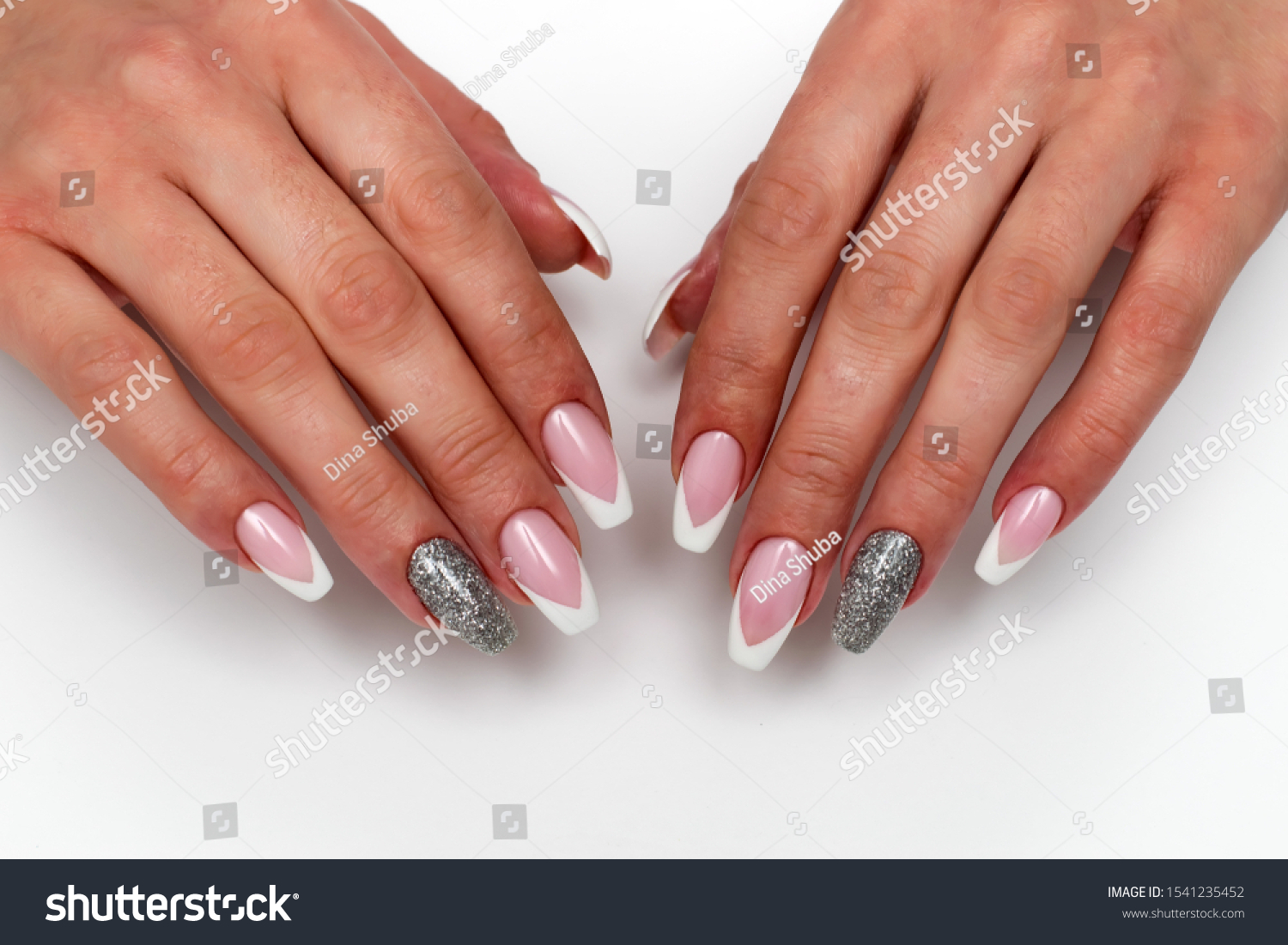 Nails Manicure 2019 Design Wedding Sharp Stock Photo Edit Now