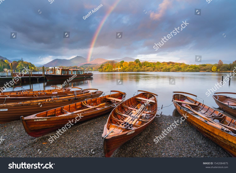 Keswick Rainbow, Lake District, UK #1542084875