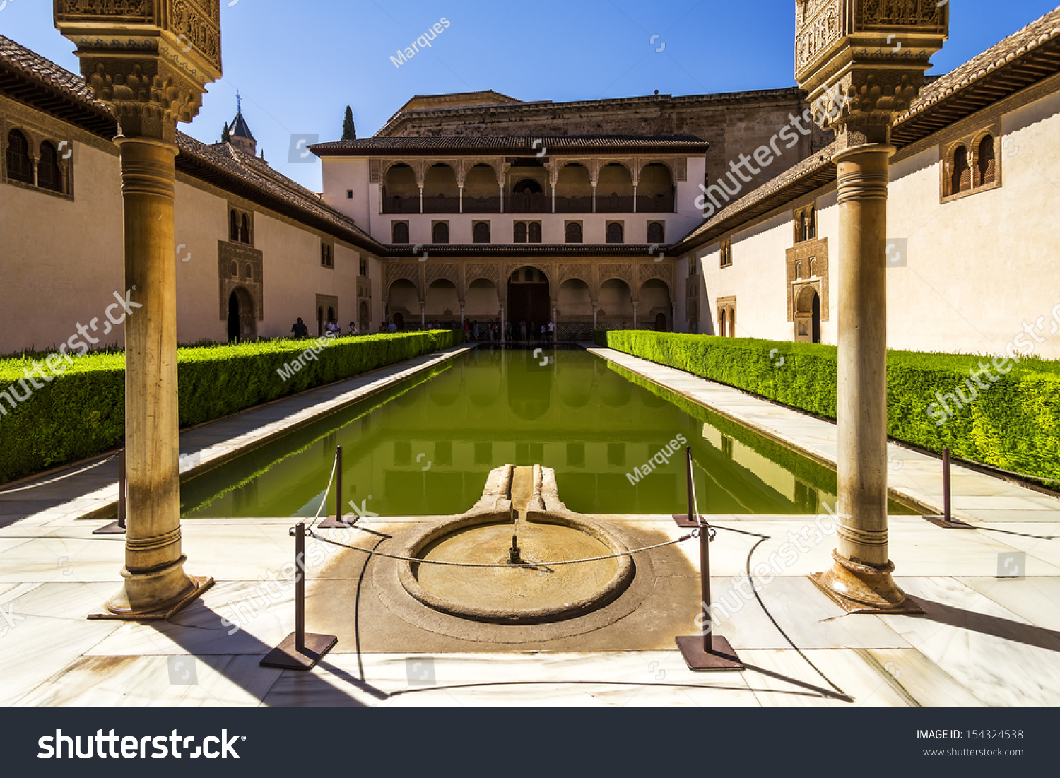 Patio De Los Arrayanes Court Myrtles Stock Photo 154324538 - Shutterstock