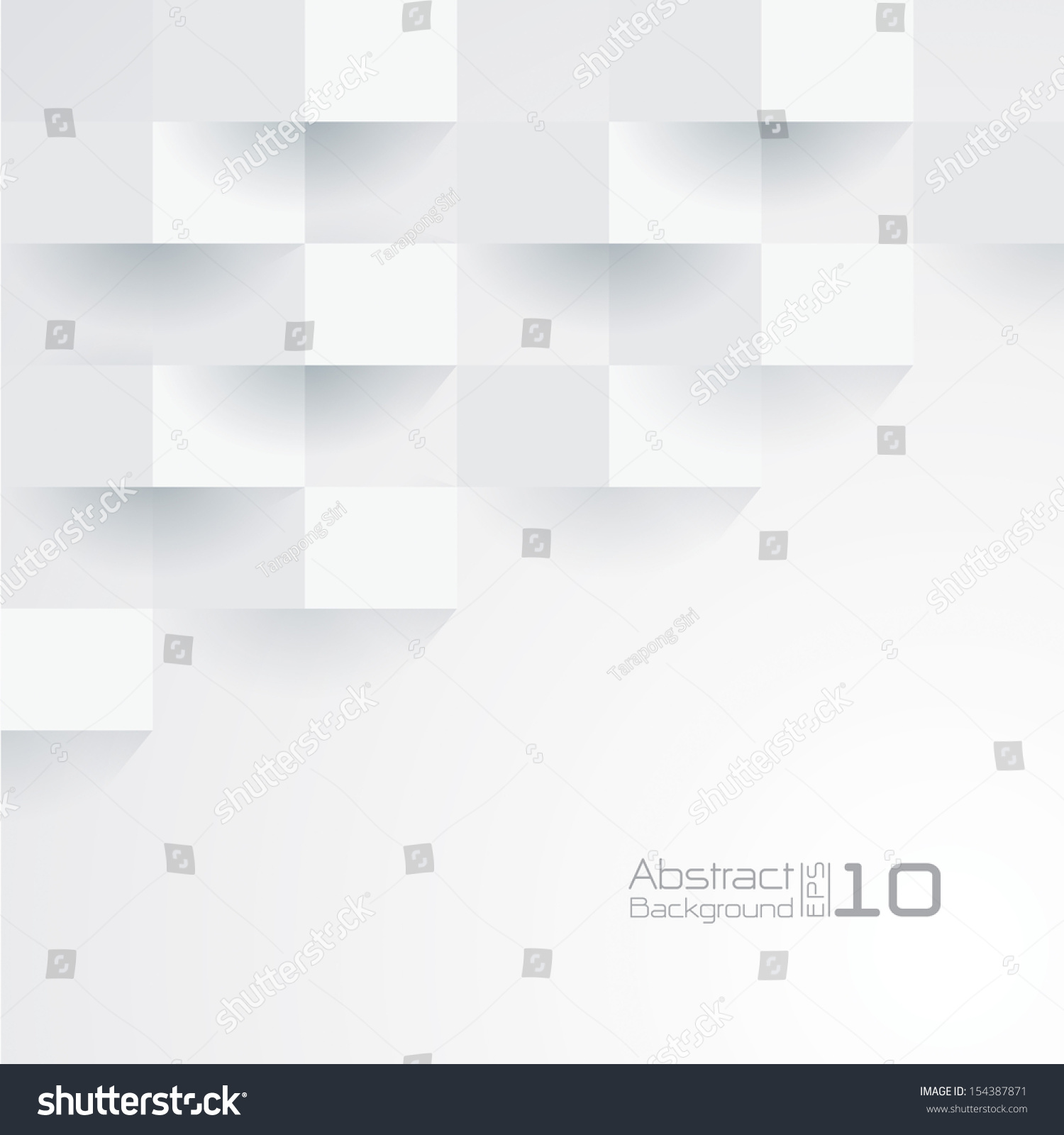 White geometric texture. Vector background #154387871