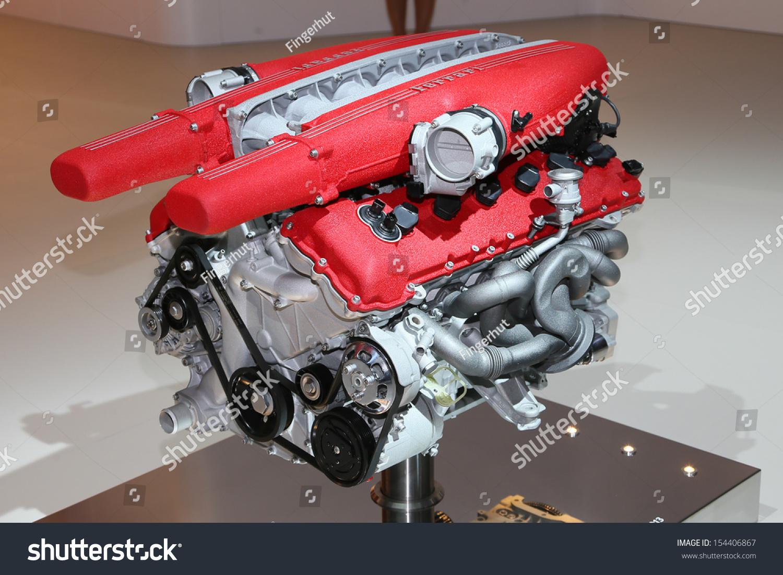 Frankfurt Sept 10 Ferrari F12 Berlinetta Stock Photo Edit Now 154406867