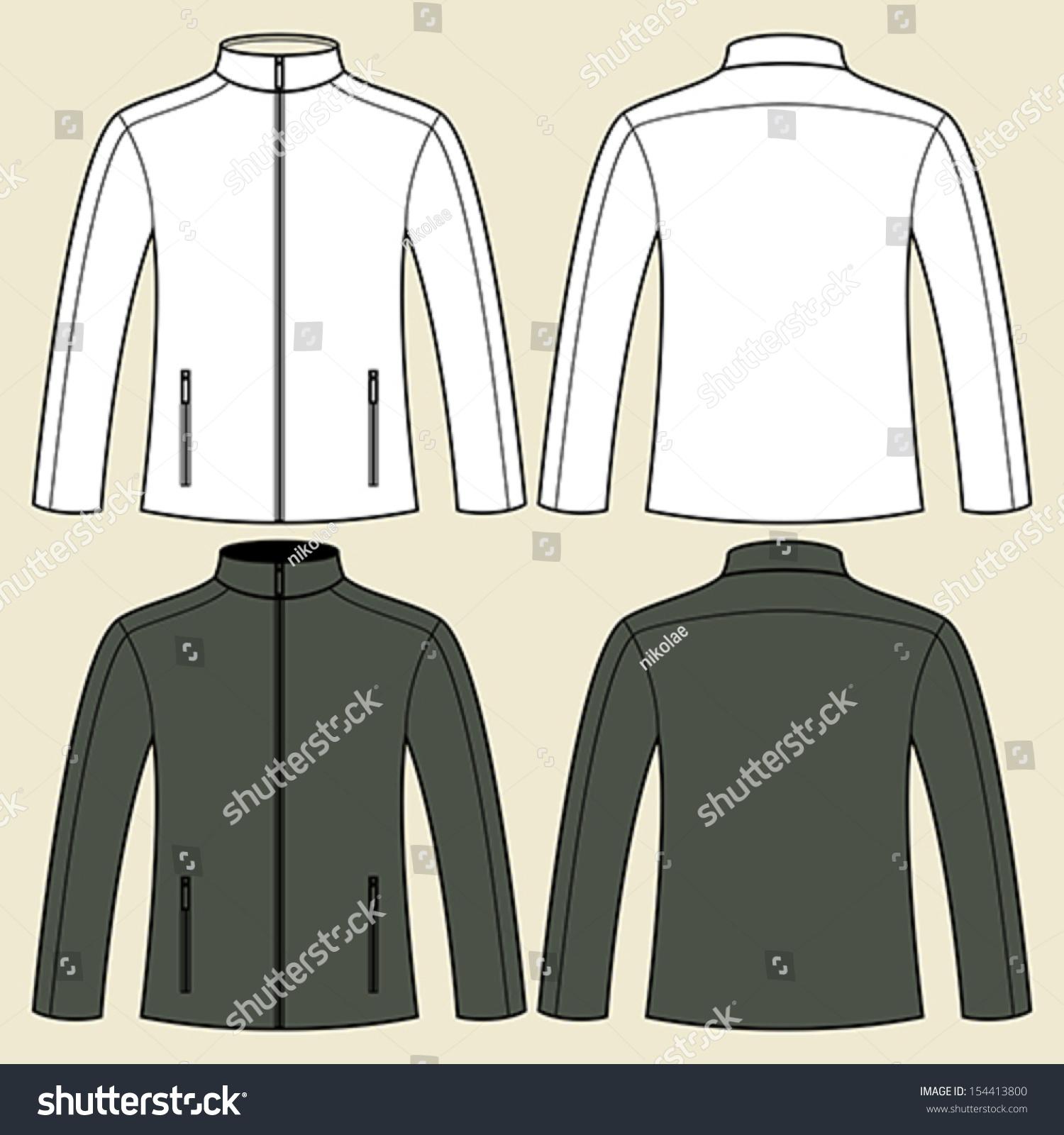 Black Jacket Template