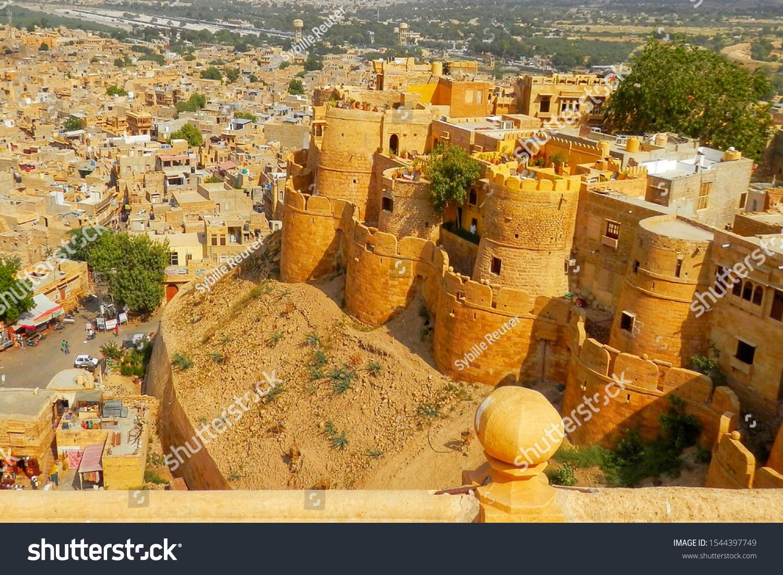 stock-photo-jaisalmer-fort-and-cityscape
