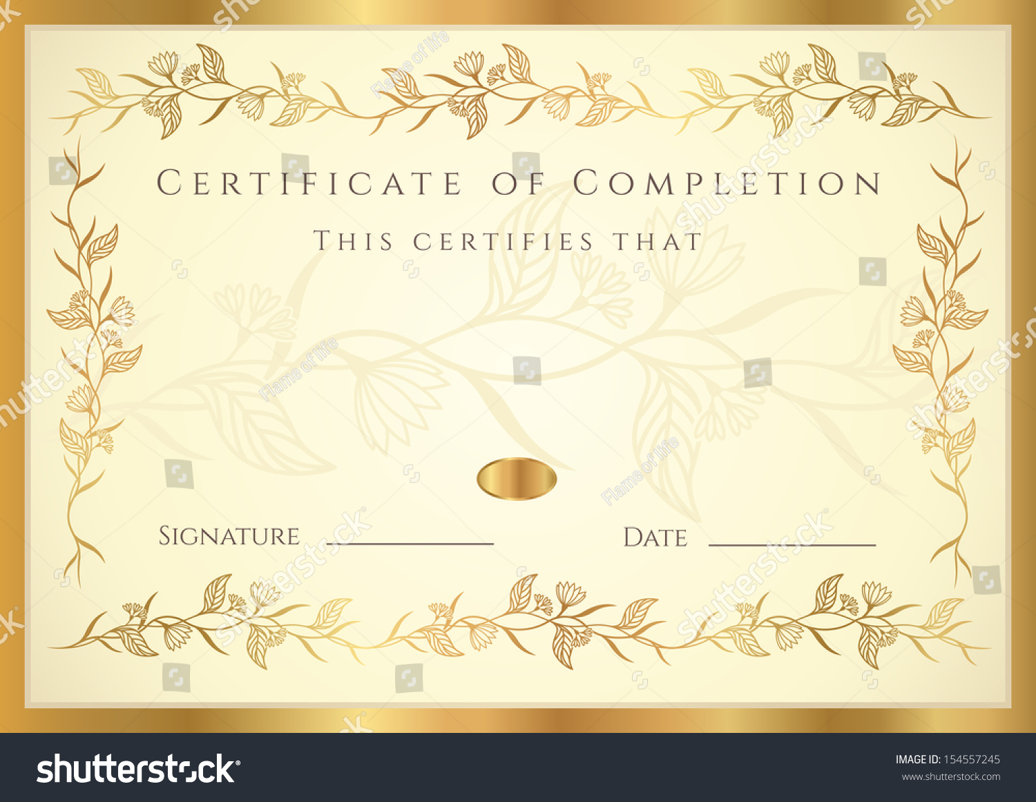 winner certificate template – Achievement Certificate Templates Free