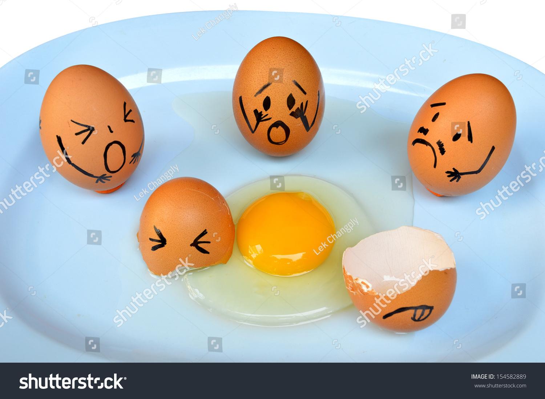 funny eggs emotion mood - photo #9