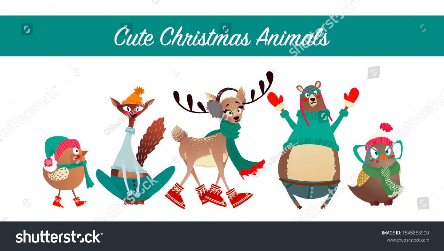 stock-vector-cute-merry-christmas-animal