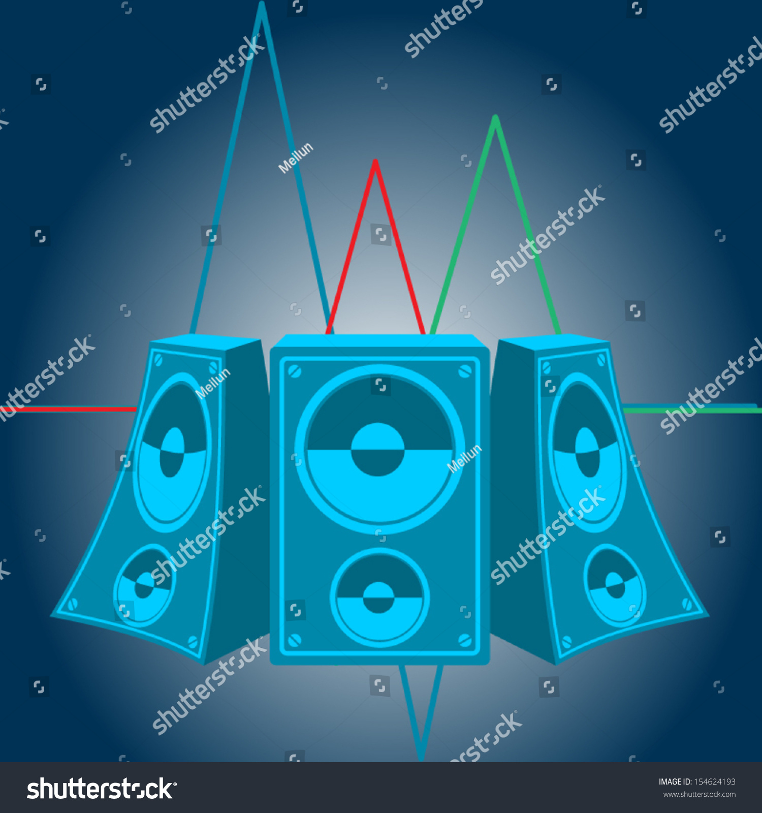 Sound Card Oscilloscope Diagram Wiring For Professional Usb Soundcard Circuit With Pcm2702 Schematic Electronics Music Speakers Vector 154624193 Shutterstock Software Freeware Decimal To Bcd Decoder