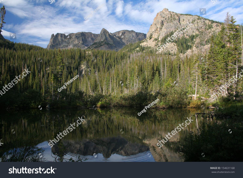 stock-photo--fern-lake-rocky-mountain-na