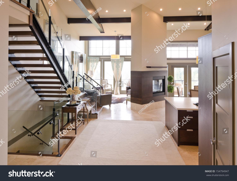 Outlook Luxury Spacious Modern Living oom Stock Photo 154794947 ... - ^