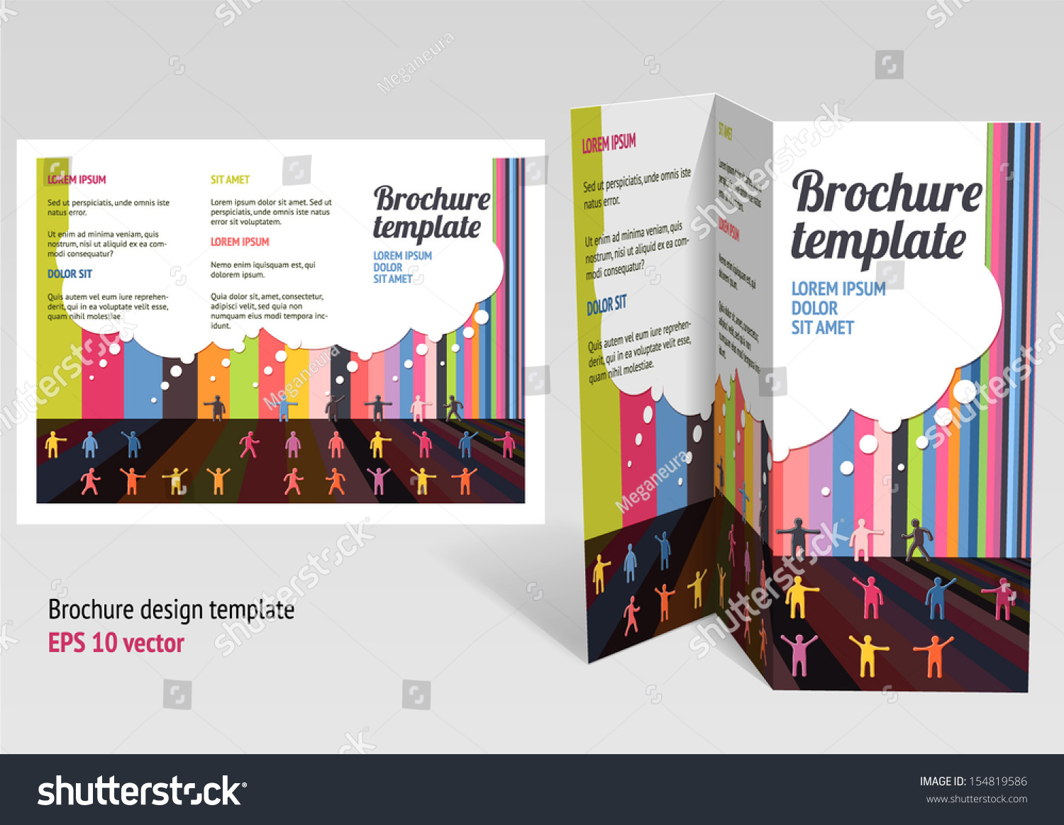 Magnificent 1 Page Proposal Template Small 1 Week Schedule Template Rectangular 110 Block Label Template 1st Birthday Invite Templates Old 2 Page Resume Format Doc White2 Page Resume Template Word Brochure Booklet Zfold Layout Editable Design Stock Vector ..