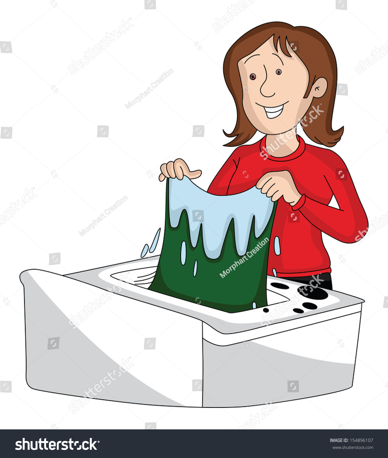 Hand Washing Clothes Clipart | www.imgkid.com - The Image ...