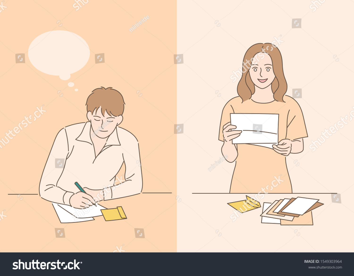 Letter To A Girlfriend from image.shutterstock.com