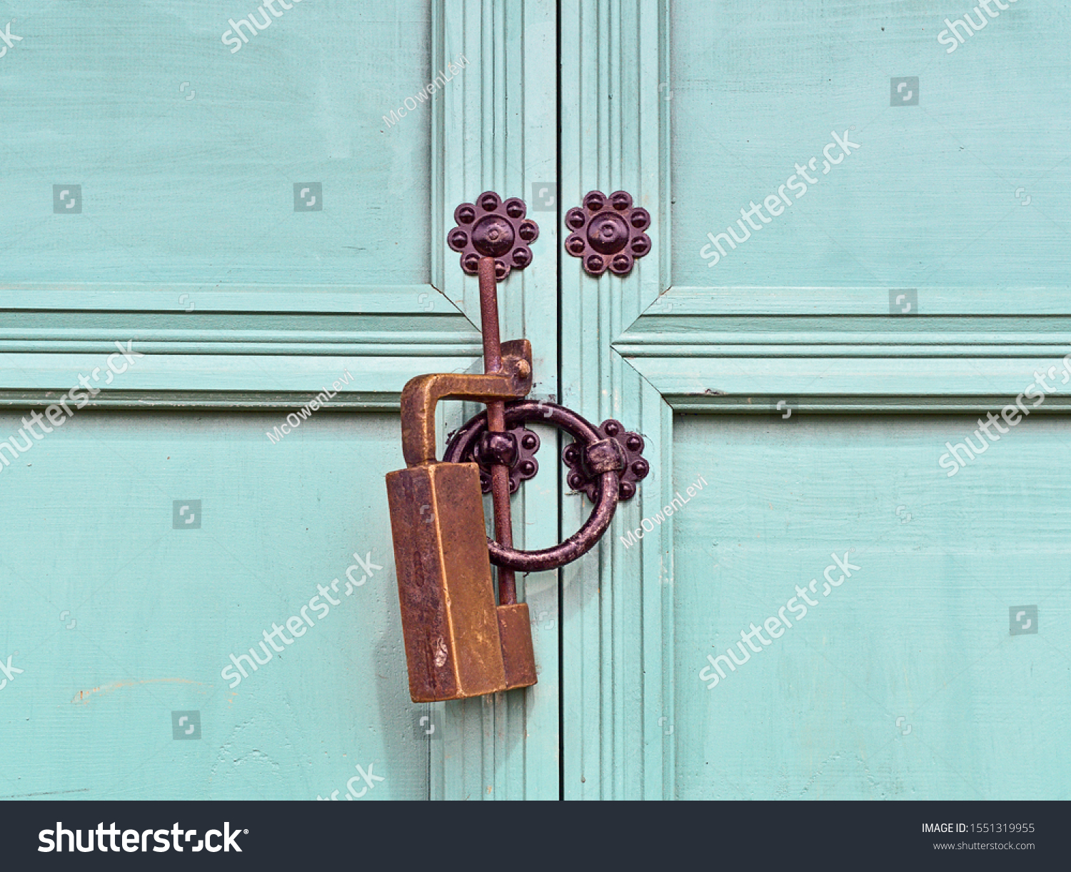 stock-photo-isolated-old-padlock-of-a-wo