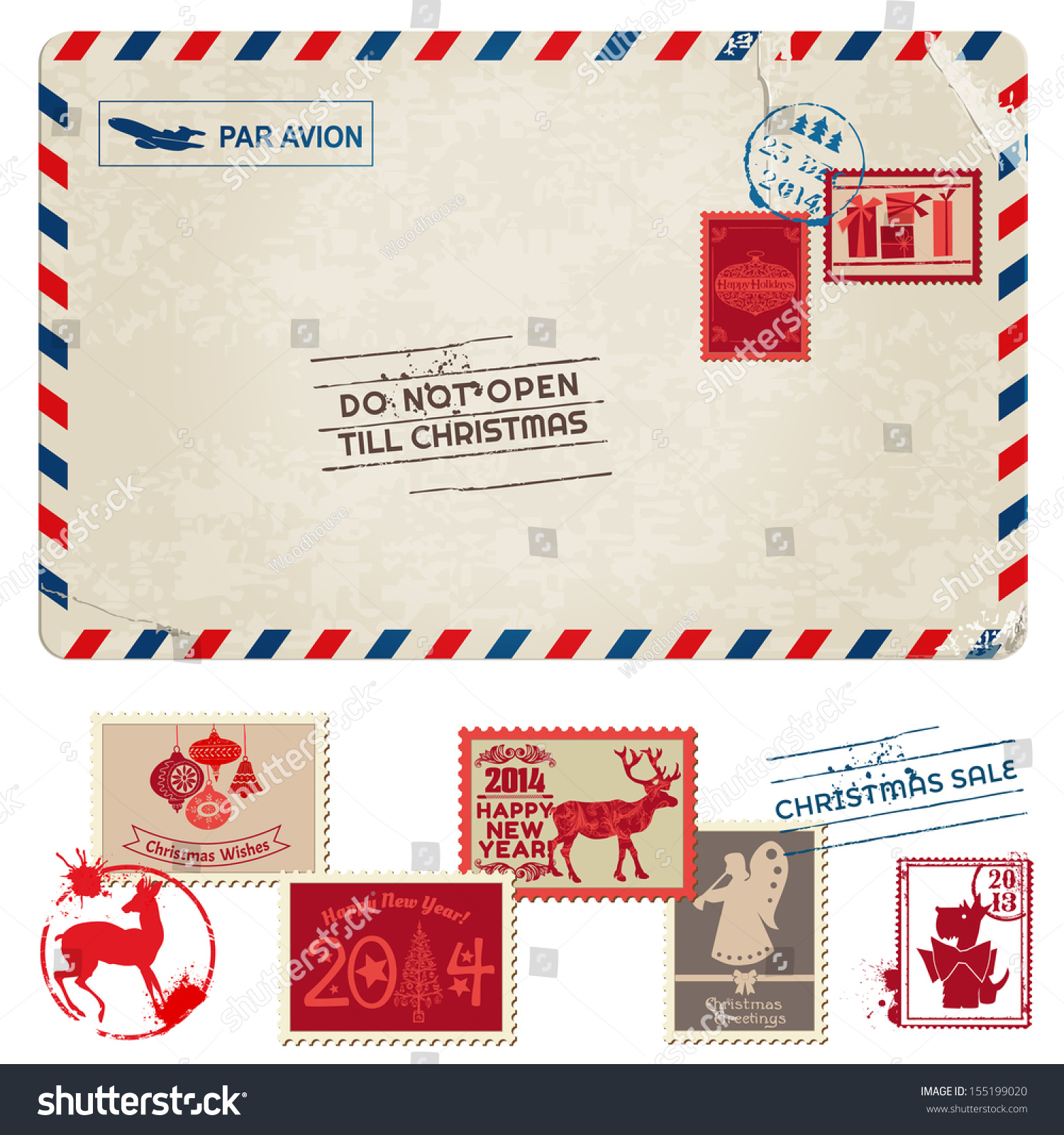 How to scrapbook postcards
