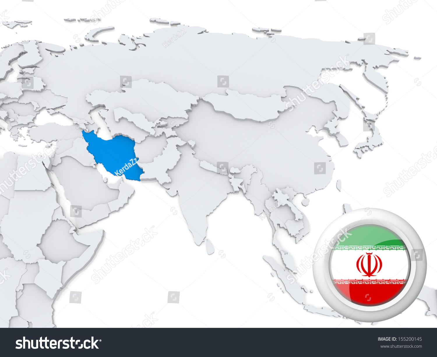 Dubai on a world map map of germany with cities mississippi state iran on world map where is dubai the united arab emirates dubai stock photo highlighted iran gumiabroncs Images