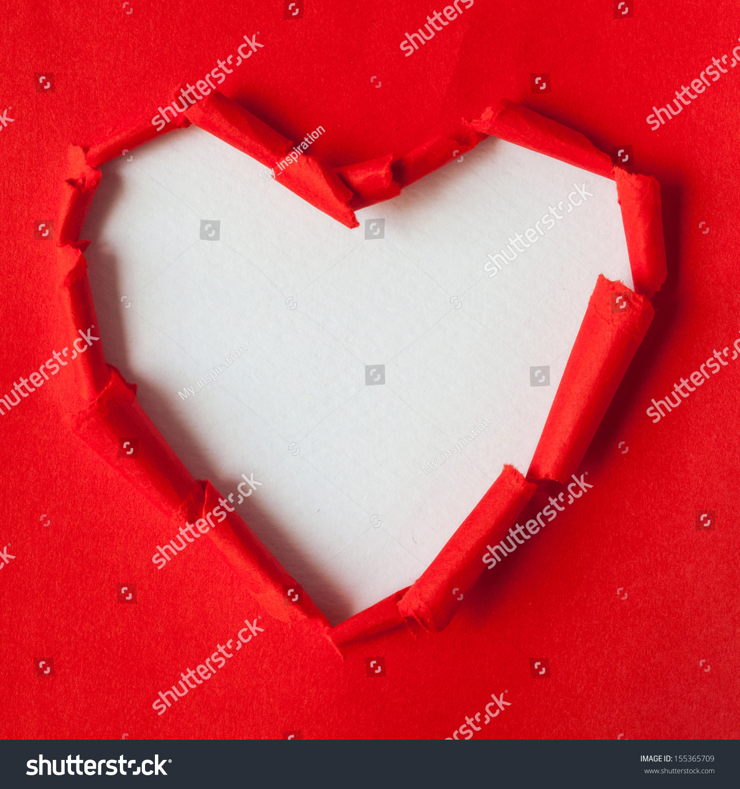 Recycled paper red torn heart paper stock photo 155365709 recycled paper red torn heart paper crafts jeuxipadfo Gallery