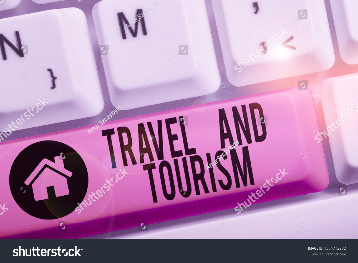 Conceptual hand writing showing Travel And Tourism. Business photo text Temporary Movement of People to Destinations or Locations. #1554772232