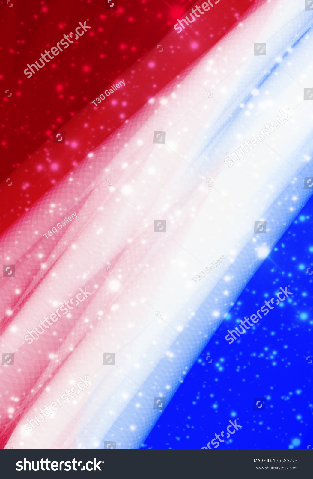 Red white blue sparkle background stock illustration for Red white and blue wallpaper