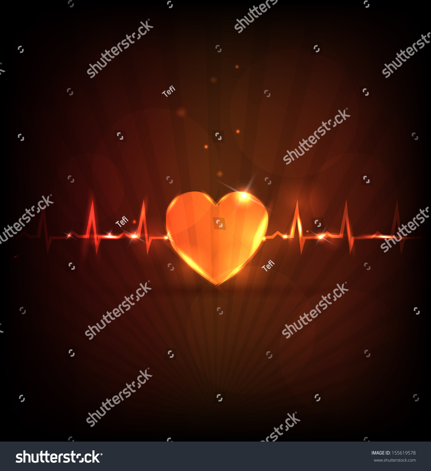 abstract heart wallpaper normal heart beat stock illustration