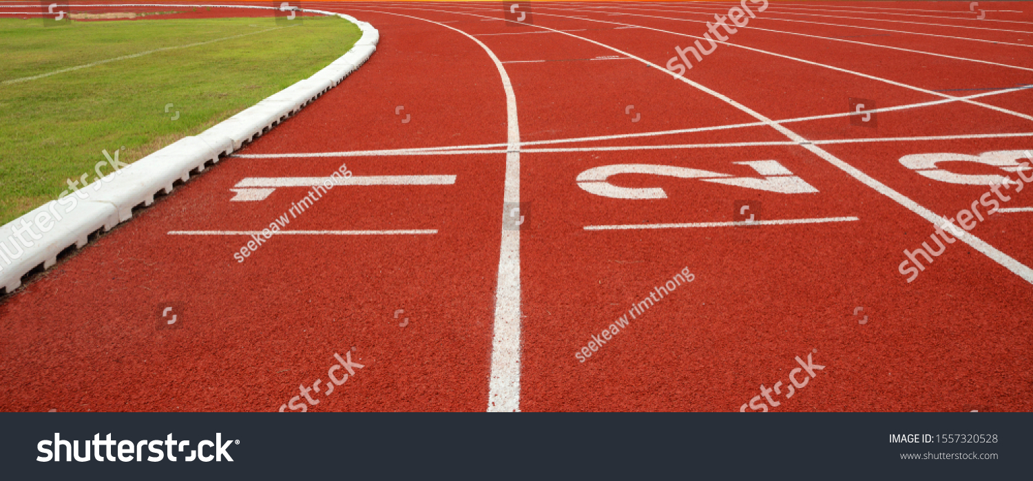 Athlete Track or Running Track #1557320528