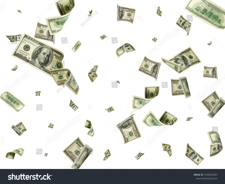 Dollar bill. Washington american cash. Usd money background. Money falling. #1559032307