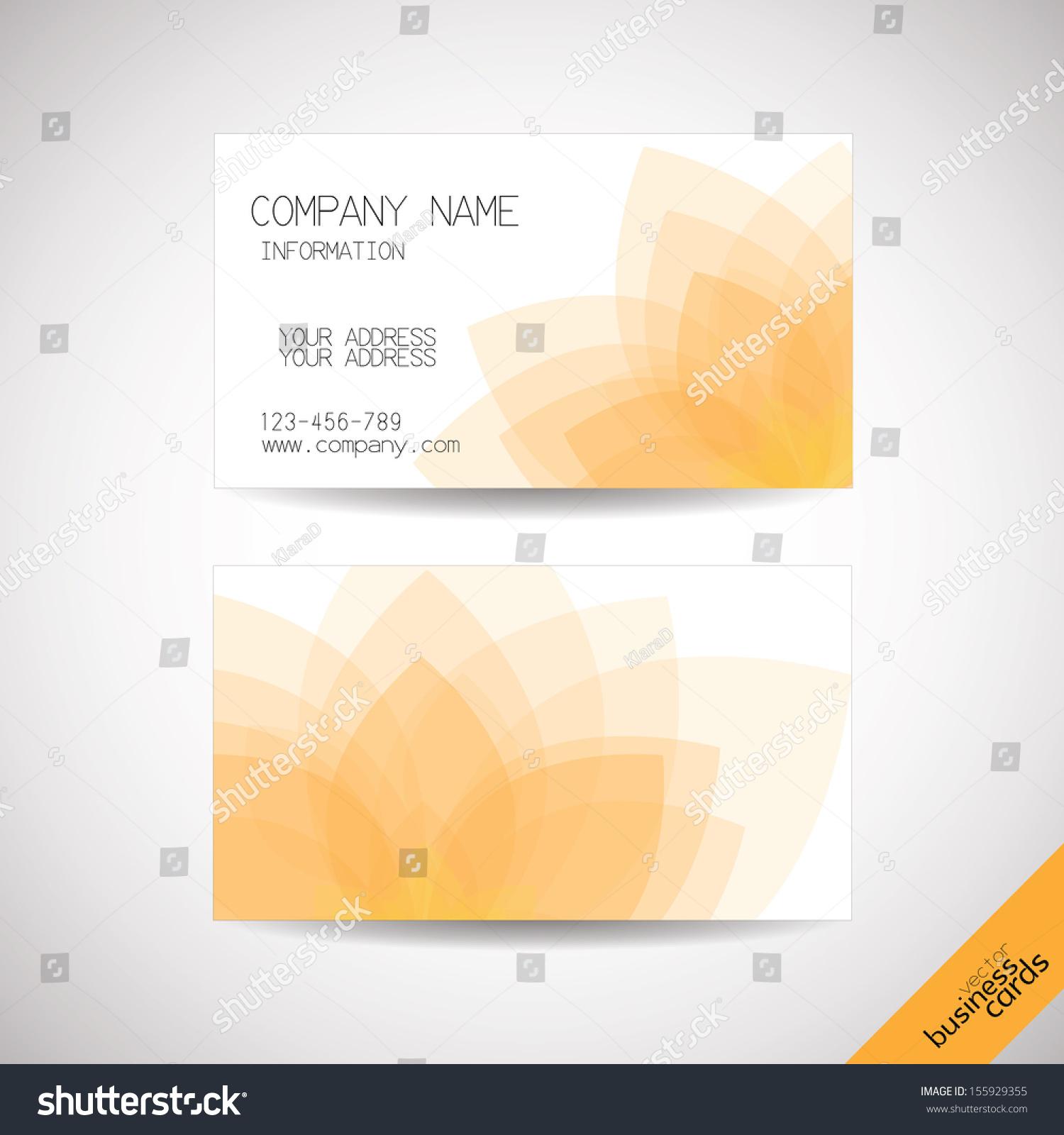 Cool Lotus Business Cards Images - Business Card Ideas - etadam.info