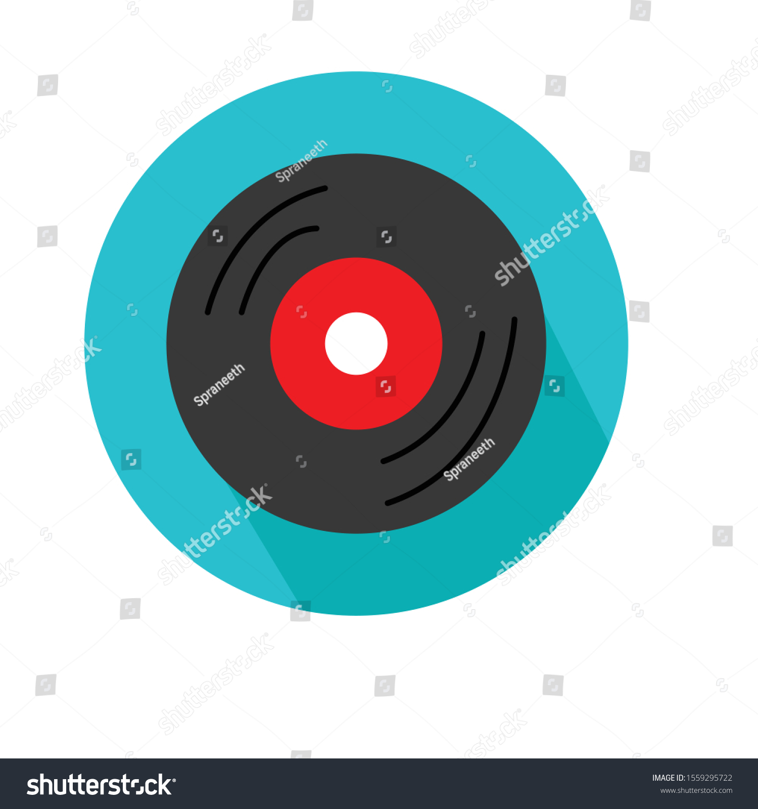 gramophone disc vector illustration simple clip stock vector royalty free 1559295722 shutterstock