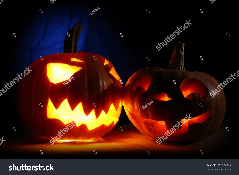 Funny And Angry Halloween Pumpkins
