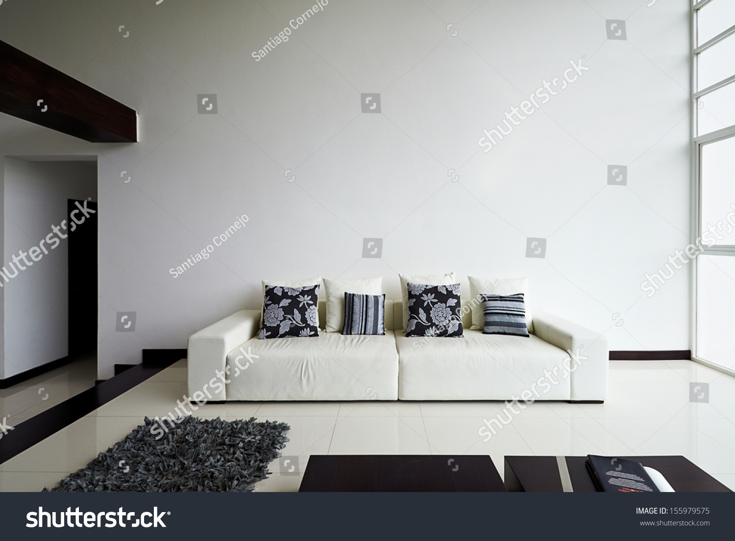 Interior Design Series Modern Living Room Stock Photo (Royalty Free ...