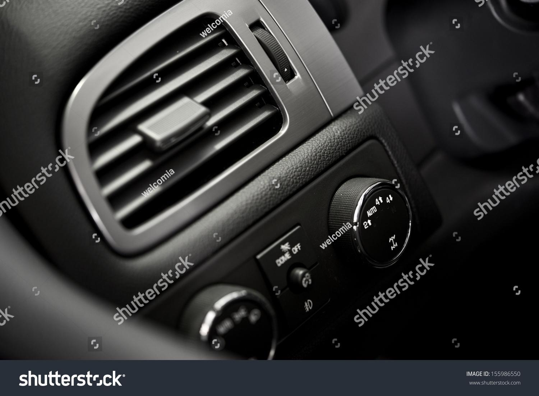 Car interior air quality - Car Air Condition Vent Modern Car Dashboard Elements Vehicle Interior Air Quality