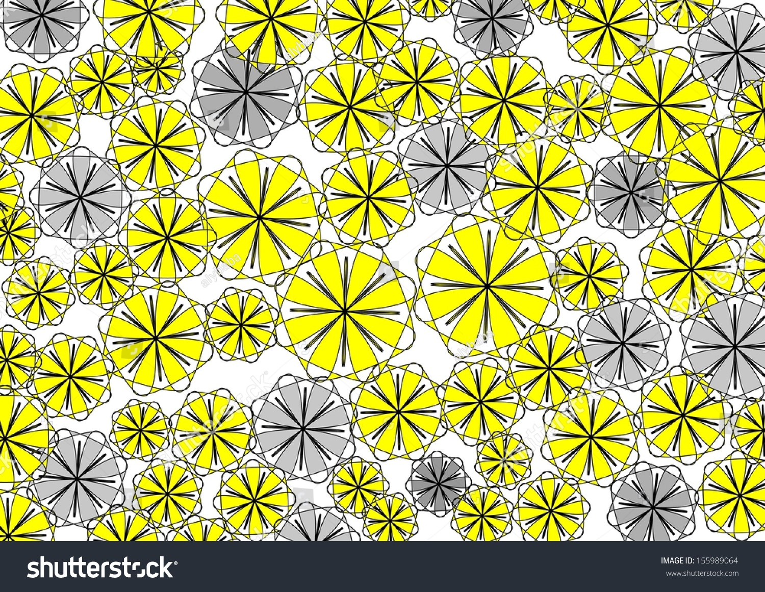 Perfect Decorative Modern Vibrant Circular Abstract Design With Floral And  Geometric Textured Motifs On A Plain White