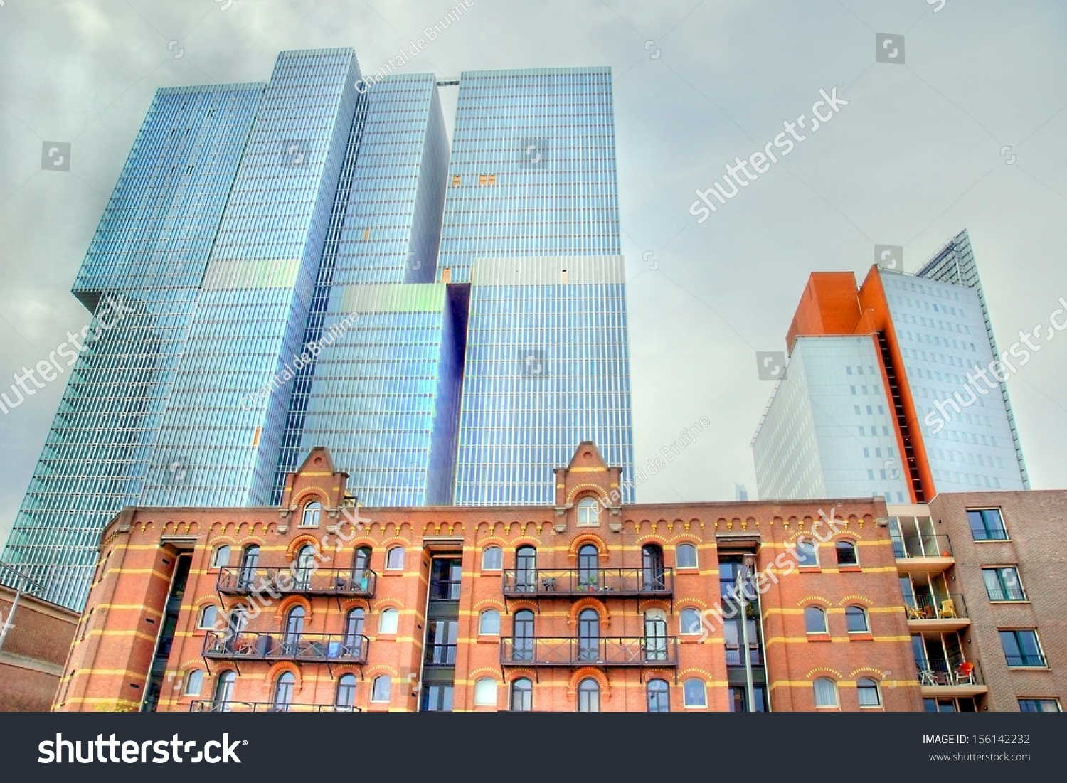 Awesome Extreme Hdr Image Building Rotterdam South Stock Photo 156142232    Shutterstock