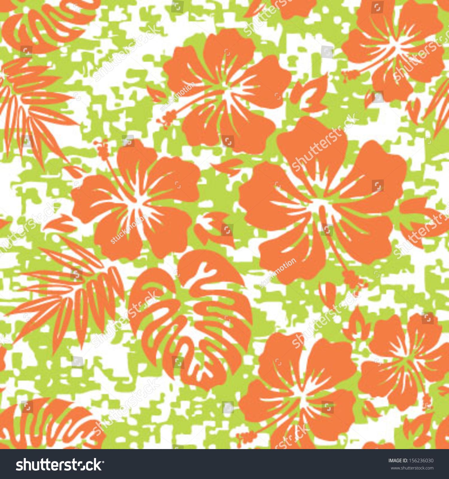 Hawaiian Shirt Pattern Gallery Aloha Background