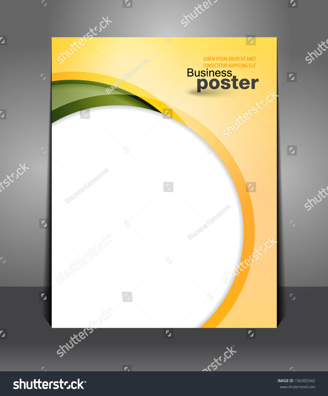 magazine cover ideas picture frame - Stylish Presentation Business Poster Flyer Design Stock