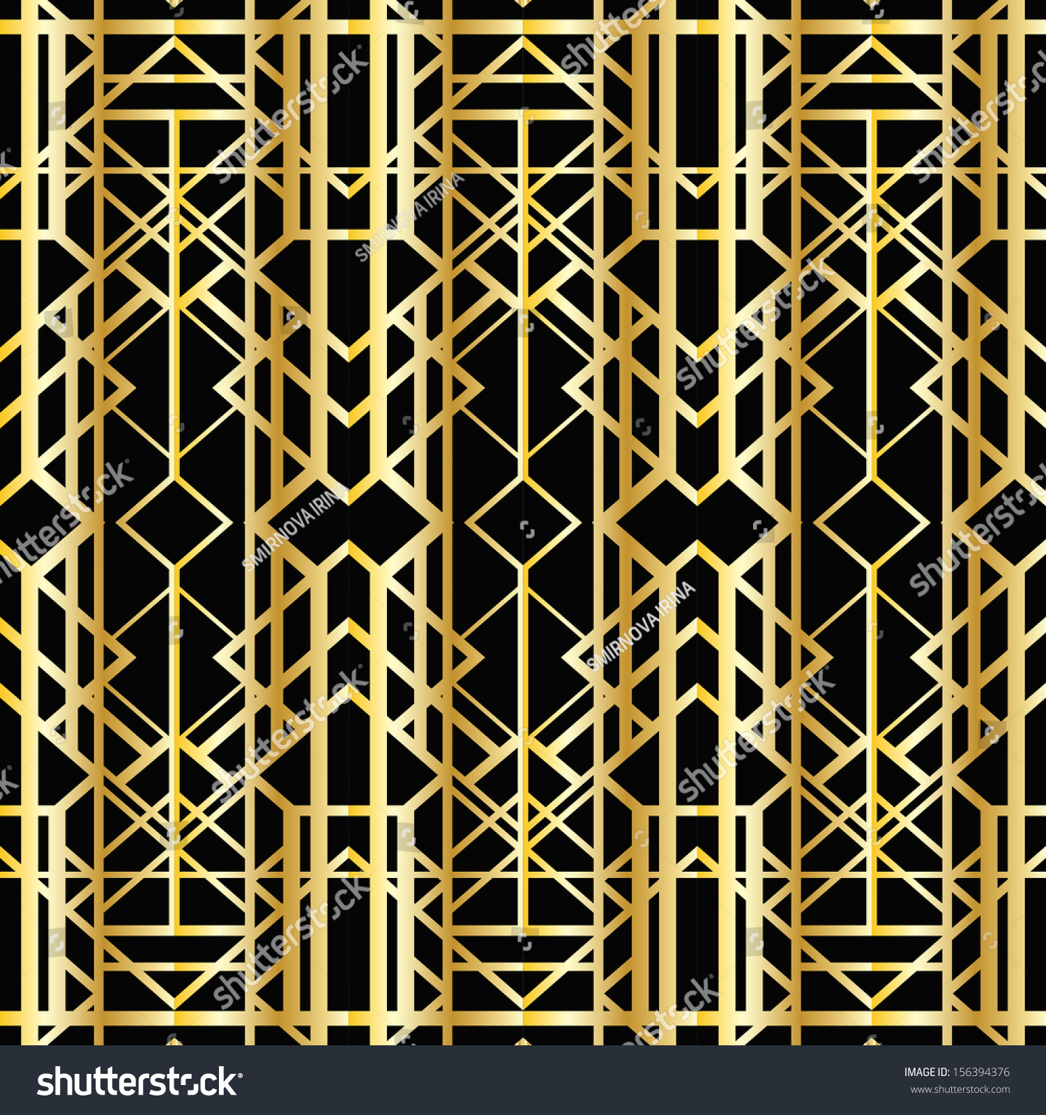 Art deco geometric pattern 1920 39 s style stock vector for Art deco look