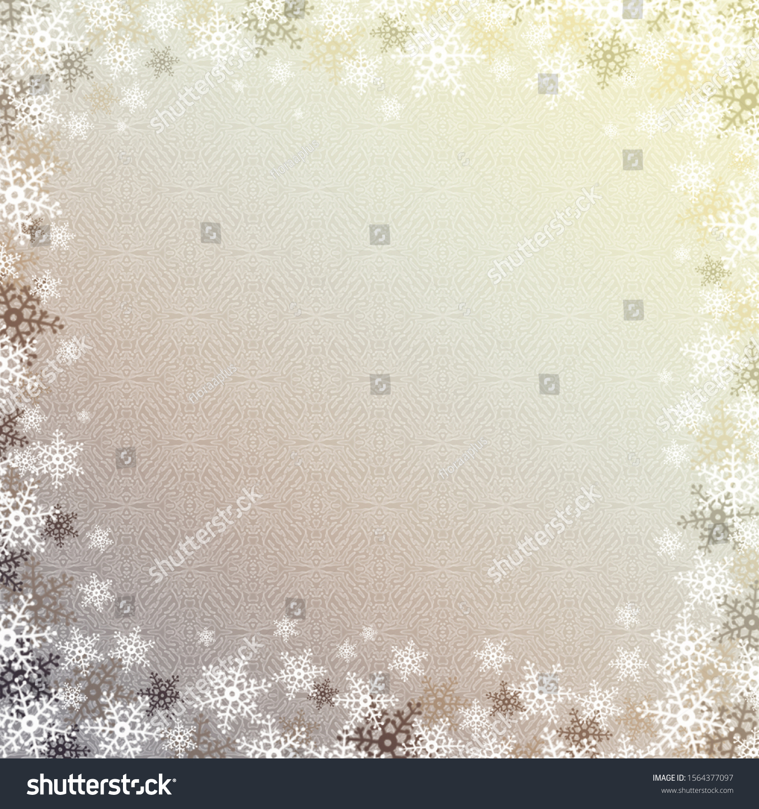 stock-photo-vintage-snowflakes-gray-beig