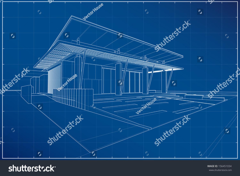 Building blueprints 3d the image kid for 3d house blueprints