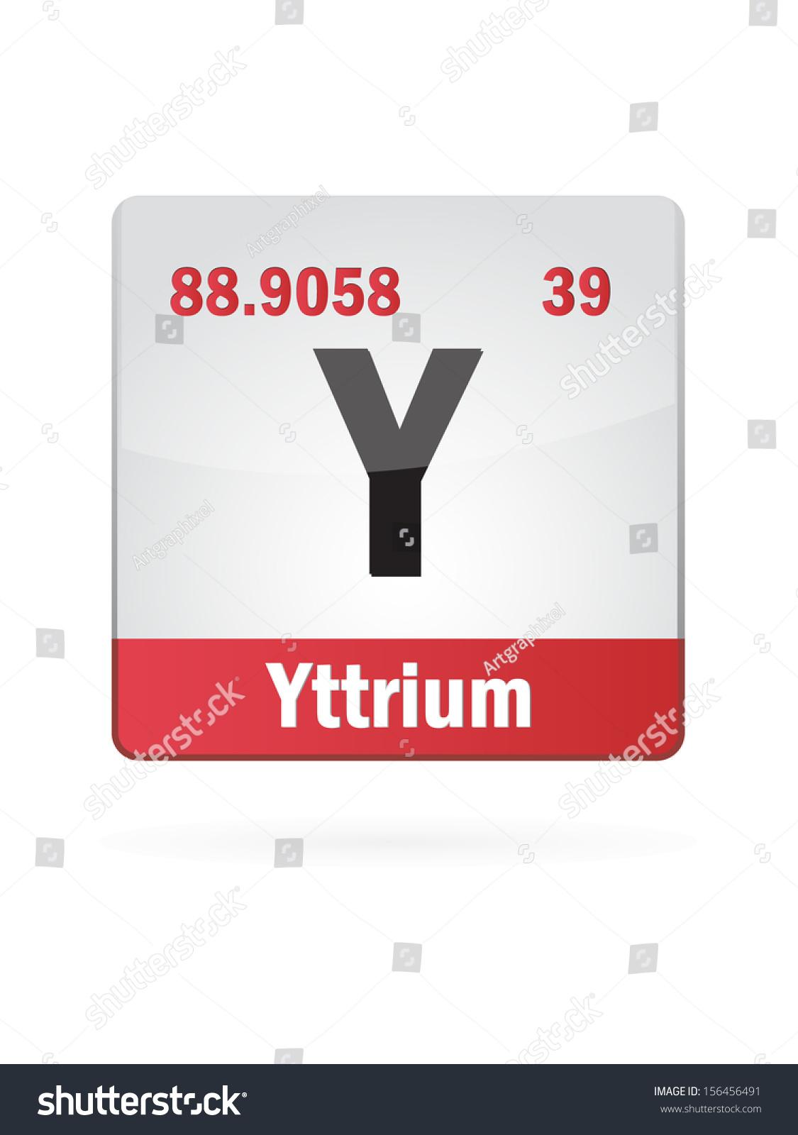 Periodic table element yttrium icon fm transmitter schematic diagram periodic table yttrium images periodic table images stock vector yttrium symbol illustration icon on white background gamestrikefo Gallery