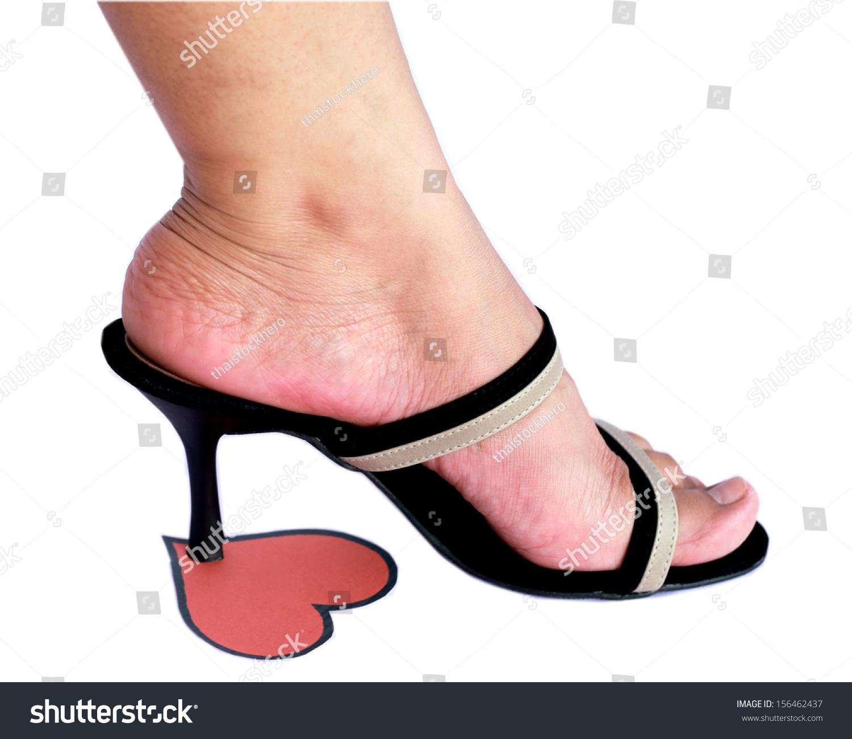 Трамплинг обувью фото стриптизерш