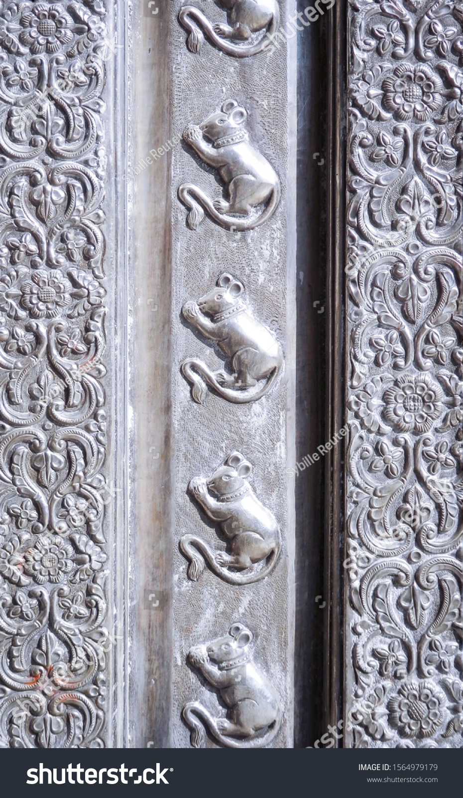 stock-photo-detail-of-the-rat-ornaments-