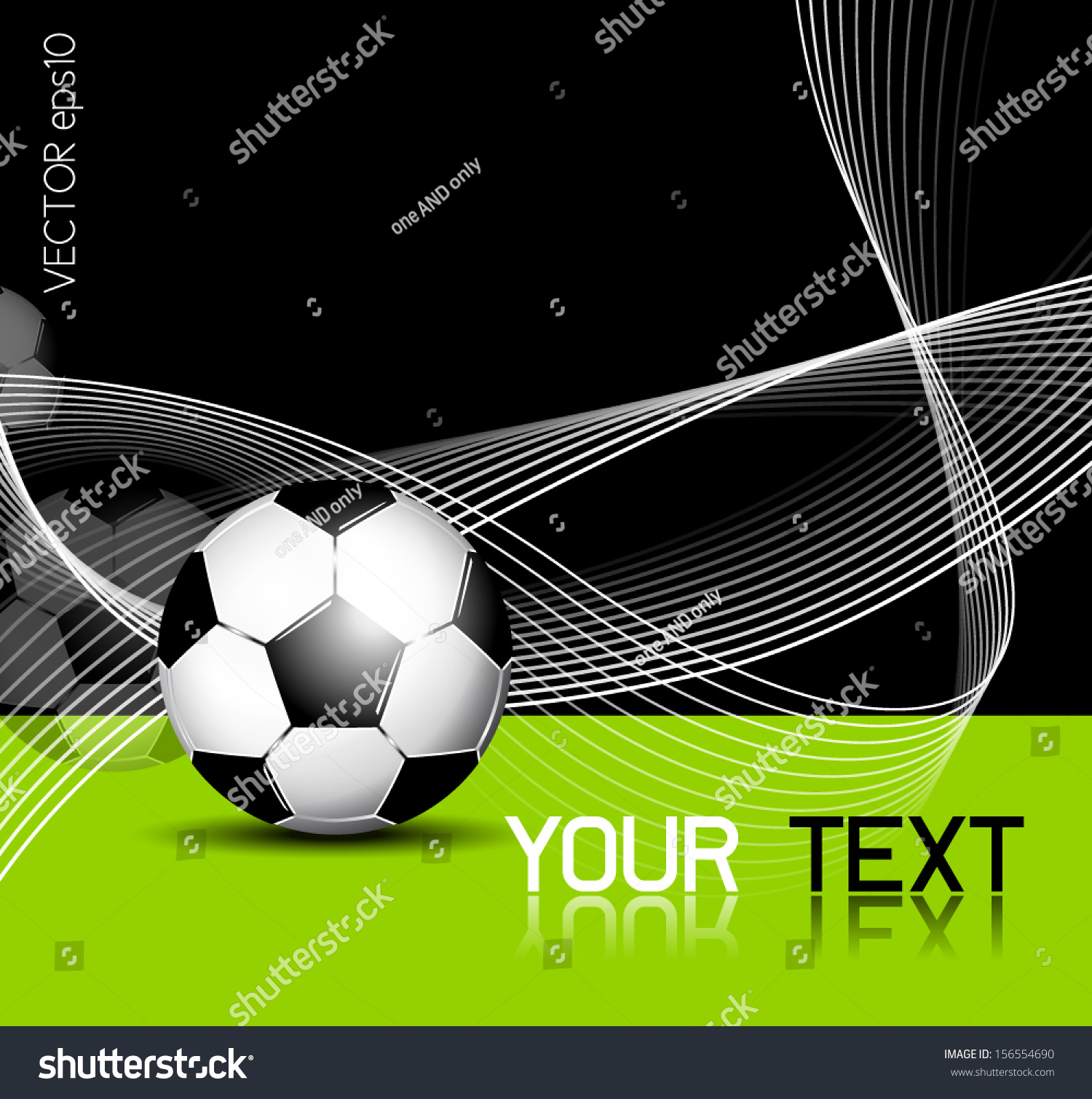 soccer ball background abstract lines football のベクター画像素材