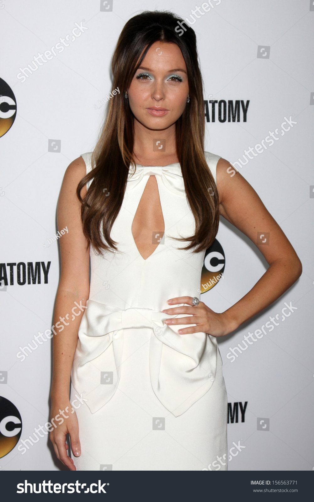 Camilla Luddington Greys Anatomy 200th Episode Stock Photo (Download ...