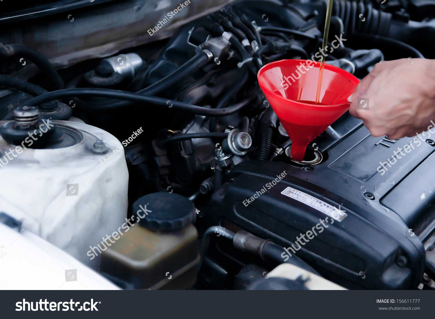 how to change car engine oil