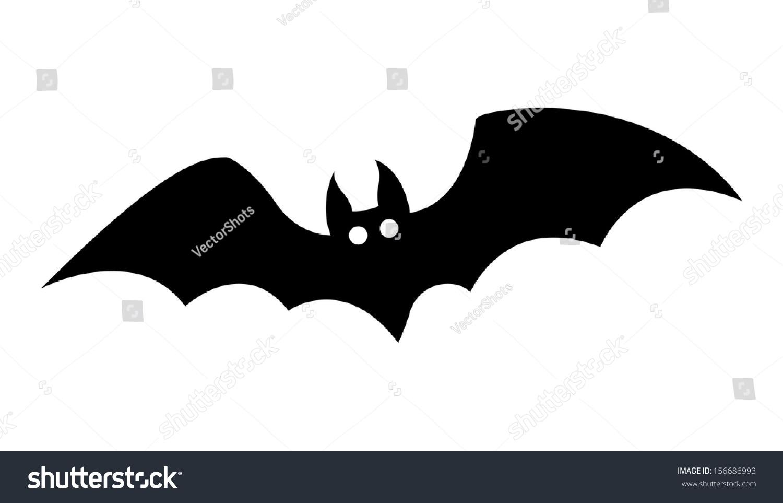 Halloween Hanging Bat Silhouette